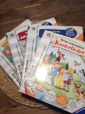 Vier TipToi Bücher im Set Ritter Zahlen lernen Jahreszeiten Kinderlieder