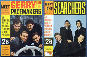 1964 Star Special No 19 20 Meet Gerry & the Pacemakers Searchers magazine lot x2