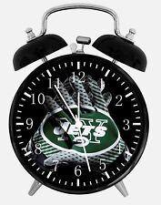 "New York Jets Alarm Desk Clock 3.75"" Home or Office Decor E450 Nice For Gift"