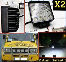 X2 Faretti LED 48W Fiat Panda 4x4 trekking off road fari barca RESISTENTI ACQUA
