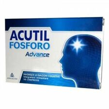 Acutil Fosforo 50 compresse - Integratore alimentare Fosfoserina L-Glutammina