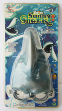RARE VINTAGE 90'S SHARK FIN SWIMMING MASK GOGGLES SNORKEL NEW SEALED !