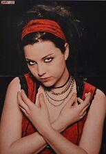 EVANESCENCE - A3 Poster (42 x 28 cm) - Amy Lee Clippings Fan Sammlung NEU