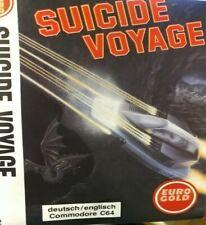 Suicide Voyage (Eurogold 1992) Commodore C64 (Diskette / Cover) 100% ok