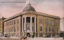 Postcard Bpoe Club Bldg Denver Co