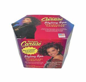 Vintage 90s Original Richard Caruso Molecular Hairsetter Styling Spa New Unused