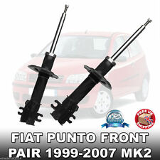 Fiat Punto MK2 Front Shock Absorbers Quality Pair 1999-2006 Shockers New Shocks