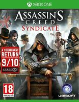 Assassin's Creed Syndicate Xbox One - MINT - Super FAST & QUICK Delivery FREE