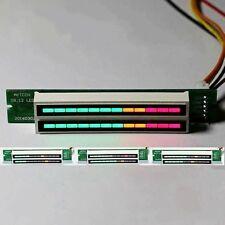 Dual 12 Stereo Level indicator DIY Kit LED VU Meter lamps Light Speed Adjustable