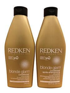 Redken Blonde Glam Conditioner DUO 8.5 OZ Each