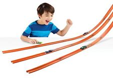 Hot Wheels 40 Feet Track Set Racing Car Toy Mega Pack DCC Builder Playset Stunt