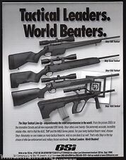 2000 STEYR SBS, Scout, SSG AUG Tactical Rifle Police Law Enforcement Firearms AD