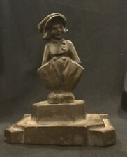 Antique Dutch Figure  Statue of a Boy Hands Pockets D4