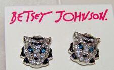 Betsey Johnson Tiger Stud Earrings