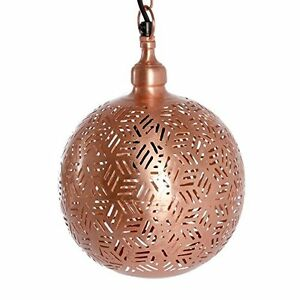 Modern Round Marrakesh Handmade Ceiling Light Moroccan Contemporary Pendant Lamp