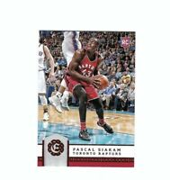 2016-17 Panini Excalibur Optic Pascal Siakam Rookie Card # 165 Toronto Raptors