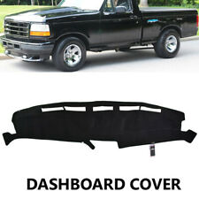Xukey Dash Mat Dashboard For Ford F150 F250 F350 92-96 Dashmat Cover Black 93