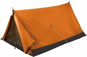 STANSPORT 2 PERSON SCOUT NYLON A FRAME TENT ORANGE OUTDOOR CAMPING 78X54X35 NEW