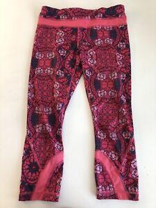 Pink Lululemon Athletic Yoga Pants Womens Size 6