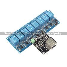 SainSmart Ethernet Control Module LAN WAN WEB Relay for Arduino Raspberry Pi
