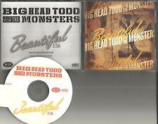 BIG HEAD TODD & THE MONSTERS Beautiful 2011 USA TST PRESS PROMO DJ CD single