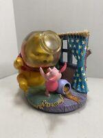 Winnie the Pooh Snowglobe MusicBox Head in the Honey/Hunny Jar