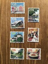 Österreich, 7 Dispenser Marken bis 2019, gestempelt
