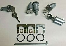 NEW 1961-1962 Bel Air, Impala, Biscayne Complete OE style Lock Set with GM Keys