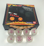 7pcs JP Anime DragonBall Z Stars Crystal white Ball Collection Set with Box