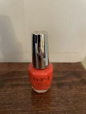 Opi Infinite Shine Gel Effects Nail Lacquer Polish No Stopping Me Now Orange L07