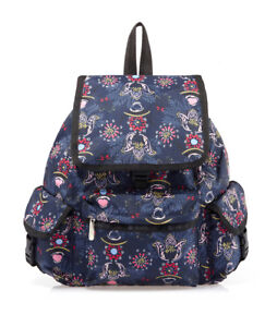 LeSportsac 7839  Voyager Backpack Evening Blues NWT