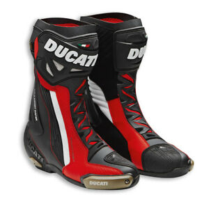 Ducati TCX Corse V5 Air Racing Boots Shoes Black Red New 2020