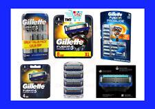 GILLETTE FUSION FUSION5 PROGLIDE RAZOR BLADES OFFICIAL 100% GENUINE BRAND NEW