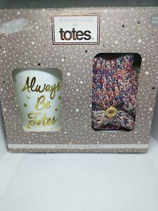 Barley Lane By Totes Travel Mug & Flip Mitt Set Women Gift