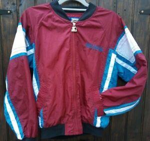 Vintage 1990s Colorado Avalanche Starter L Ice Hockey NHL Maroon Jacket