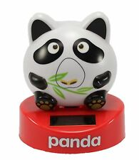Dancing Chubby Round Panda Bobblehead Solar Power Toy Gift Home Decor US Seller