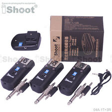 PT-04 A Wireless Remote Radio Slave Flash Trigger + 3Rx