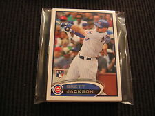 2012 TOPPS UPDATE CHICAGO CUBS BASE TEAM SET 8 CARDS  BRETT JACKSON ROOKIE +