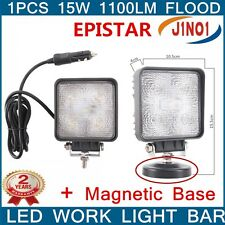 For Hummer Jeep SUV Off-road Truck 15W Led FLOOD Search Work Light+Magnetic Base
