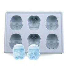 Star Wars Silicone Ice Tray Mold Ice Cube Chocolate Pudding DIY Storm Trooper ZR