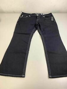 Women's NWT Miss Me Mid-Rise Easy Boot Jeans Size 36