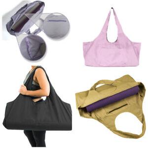 Shoulder Large Capacity Fitness Yoga Mat Exercise Carrier Strap Sling Duffle Bag