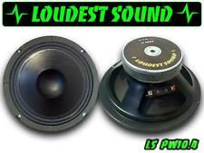 COPPIA Mid Woofer 25 cm Loudest Sound LS PW10.4 650 Watt Professionali spl audio