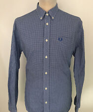 FRED PERRY Check Shirt Size Large