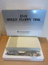 Vintage Commodore computer 1541 Single Floppy Disk drive in original box #2