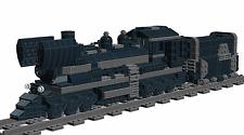 Lego Custom STEAM ENGINE No.2 for 9V (Wagon/Train/Railway) INSTRUCTIONS ONLY!!