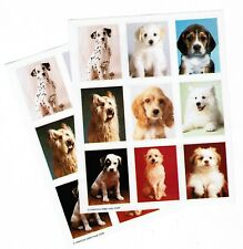 Dog Portraits 2 Sheets Vintage American Greetings Stickers!