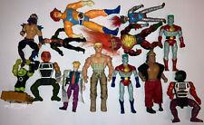 Actionfiguren Konvolut Diverse Sorten (Wrestler, Ritter, Superhelden)