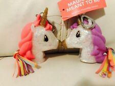 Bath & Body Works BFF PocketBac Holder UNICORN MAGICALLY MEANT TO BE 2 Pc. Set