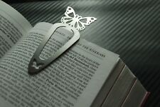 BUTTERFLY Bookmark Page Bookworm PaperClip Reading Paperback Hardback Book Gift
